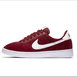 New Nike SB Bruin low suede Team red white